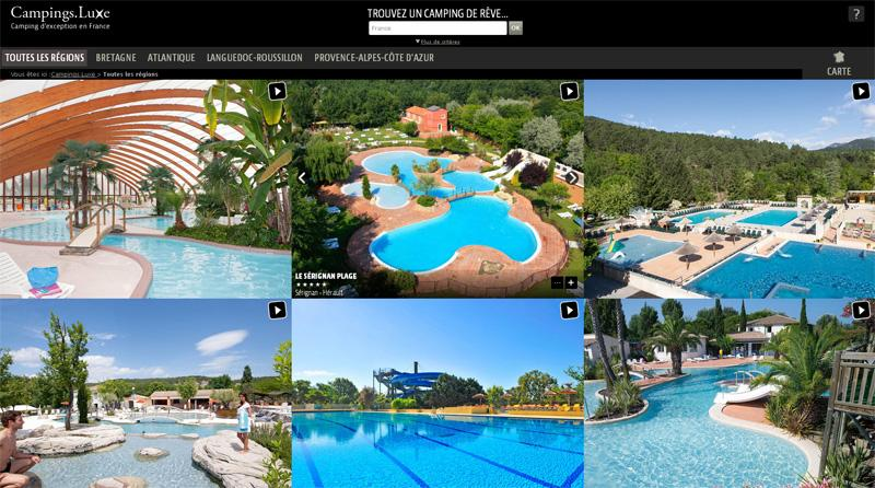 site camping de luxe fr