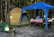 materiel-de-camping-bivouac-foret